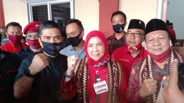 Banteng Resmi Usung Eva-Dedi untuk Pilkada Bandar Lampung