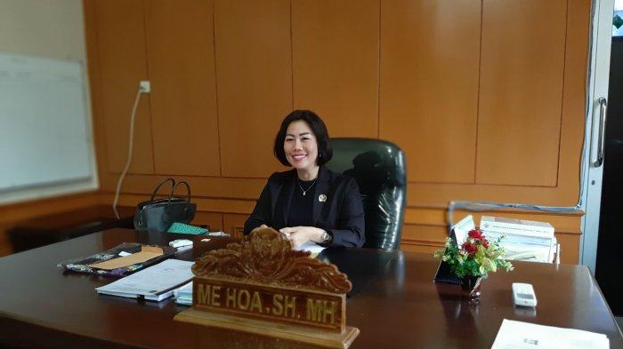 Me Hoa Ajak Kader Banteng Menangkan Didit-Kora