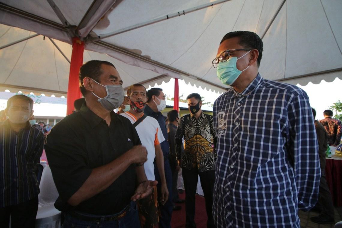 Hore, Nurdin Bebaskan Retribusi Bagi UMKM dI CPI Makassar