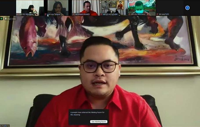 Dhito Pramono Siap Sekolah Partai & Makin Yakin Menang
