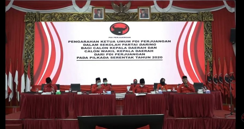129 Peserta Sekolah Kepala Daerah PDI Perjuangan Gelombang I