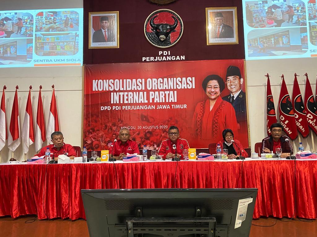 PDI Perjuangan Inginkan Orang yang Tepat Kelola Surabaya