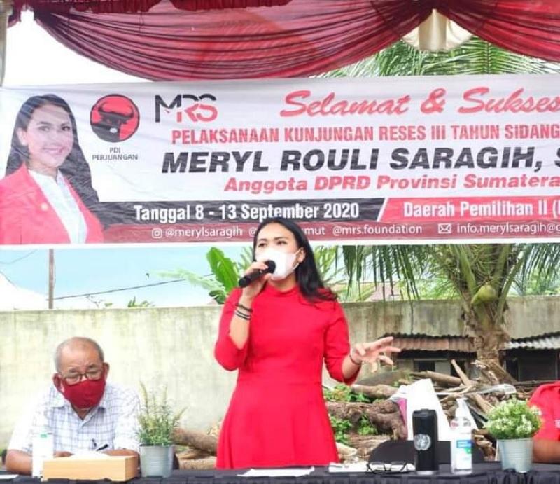 Meryl Ungkap Upaya Tolak Penggusuran Warga Medan Johor