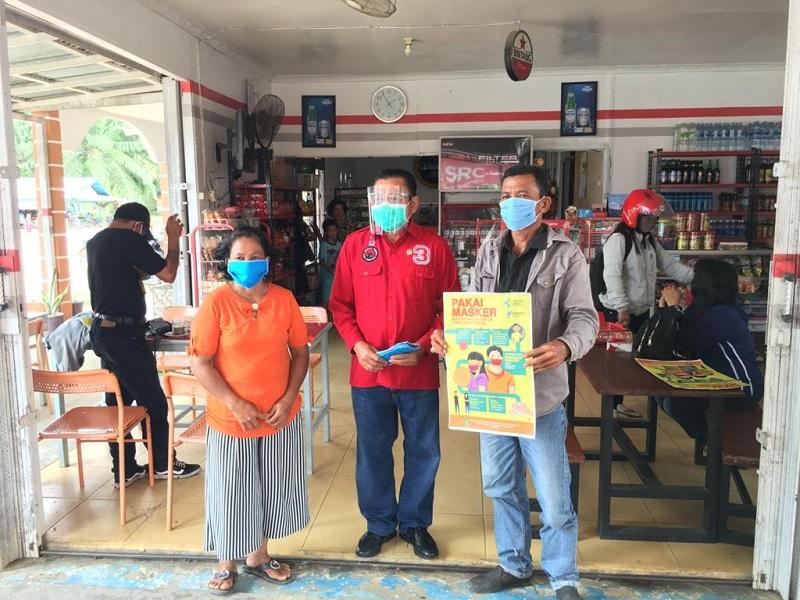 Cornelis Kampanyekan Disiplin Pakai Masker di Kalbar