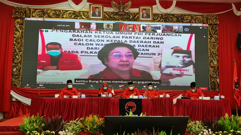 Cakada Non Kader, Megawati Sebut 7 Judul Buku Untuk Dibaca