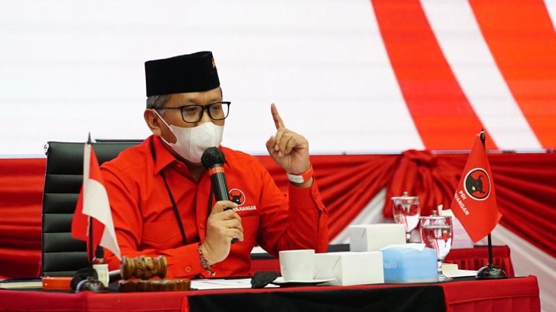 PSBB Jakarta, Hasto: Akar Semua Persoalan Penegakan Disiplin