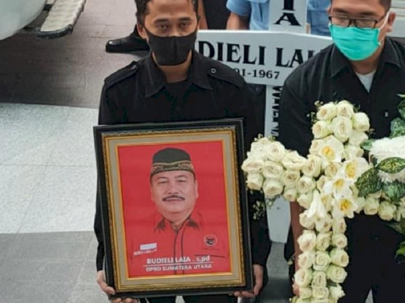 Politisi PDI Perjuangan Sumut, Budieli Laia Wafat