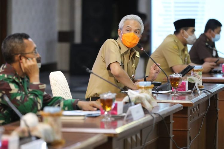 Tegas! Ganjar Larang Kampanye Terbuka di Jawa Tengah