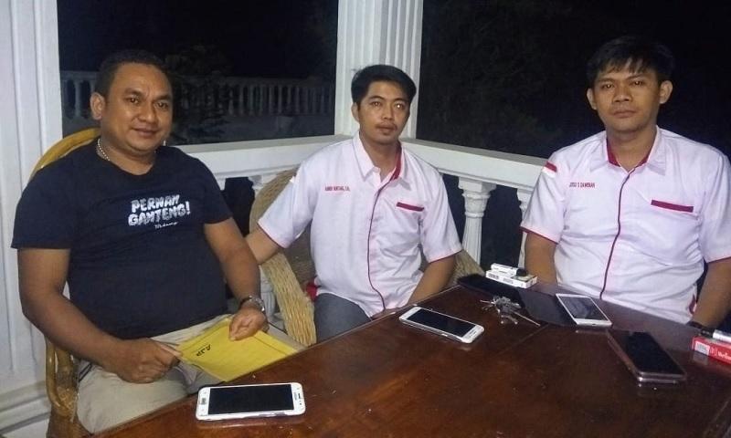 Tim Hukum Paslon Kala'-Etha Laporkan Akun FB ke Polres