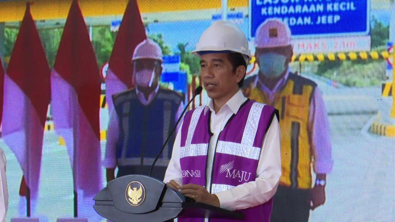 Secara Virtual, Presiden Resmikan Jalan Tol Manado-Bitung