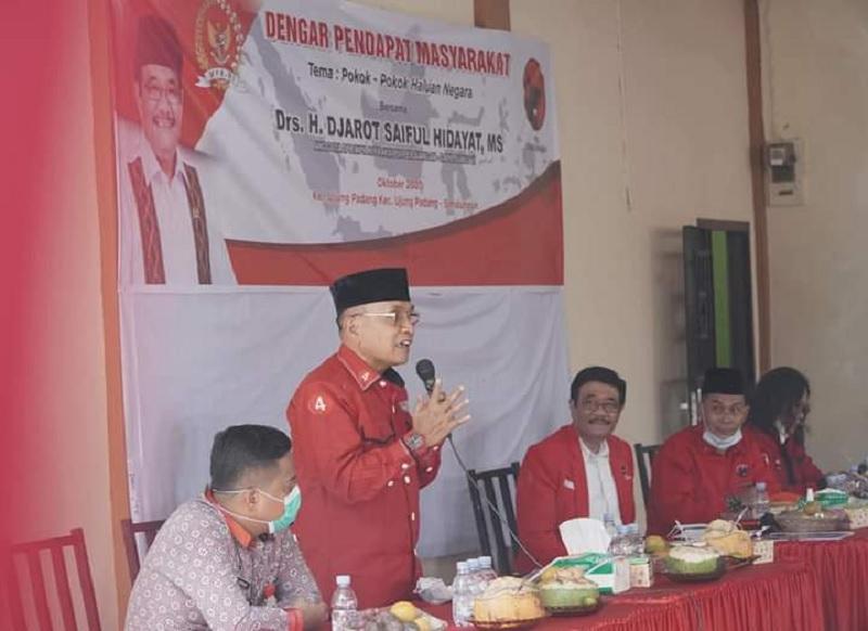 Anton Saragih Hadiri Reses Djarot Saiful Hidayat