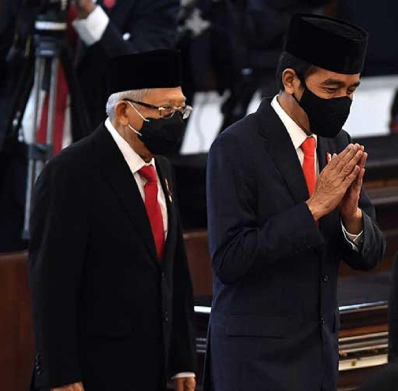 Satu Tahun Jokowi-Ma'ruf Penuh Dengan Cobaan