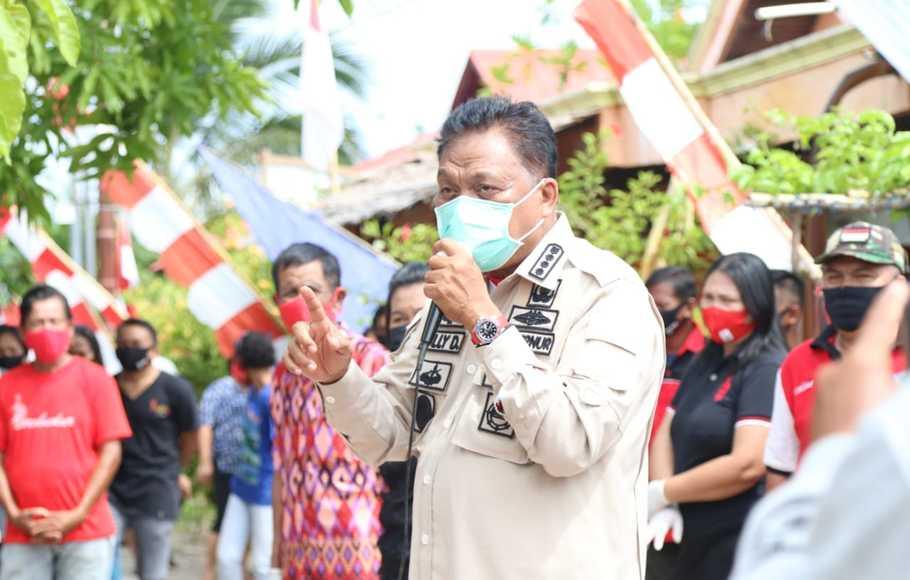 Olly Serukan Banteng Mitra Soliditas Menangkan Pilkada