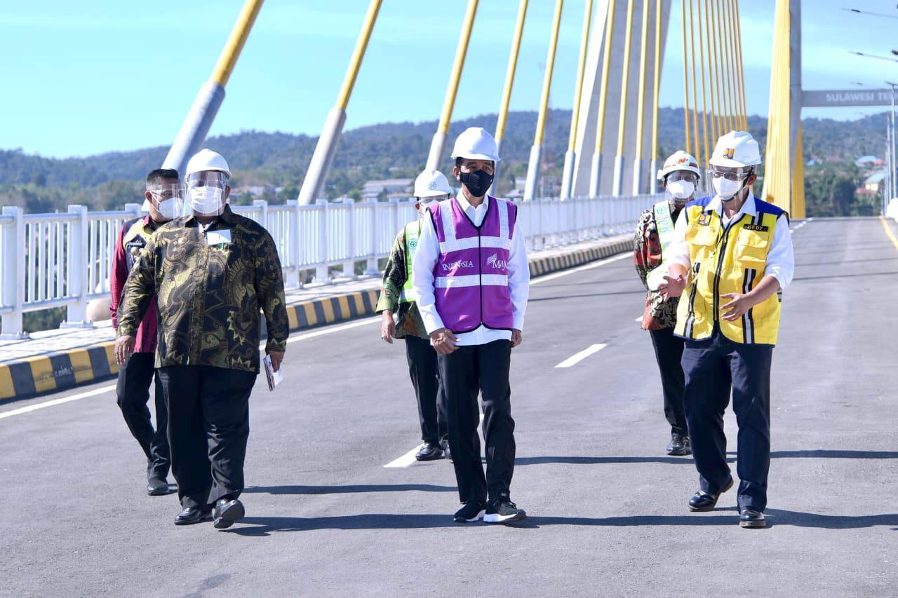 Presiden: Jembatan Kendari Jadi Kebanggaan Baru Masyarakat
