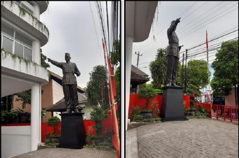 Sumpah Pemuda, Patung Bung Karno Berdiri di Kantor DPD-DPC