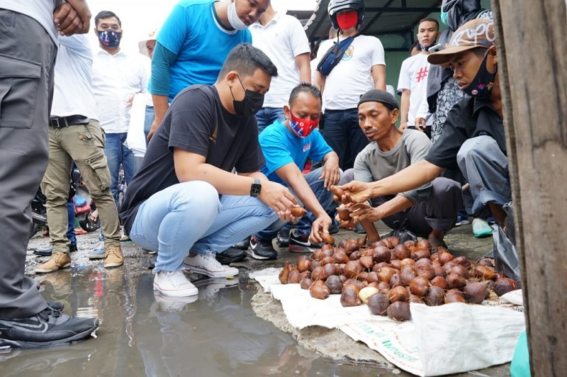 Bobby Nasution Serap Aspirasi Pedagang Pasar Tradisional