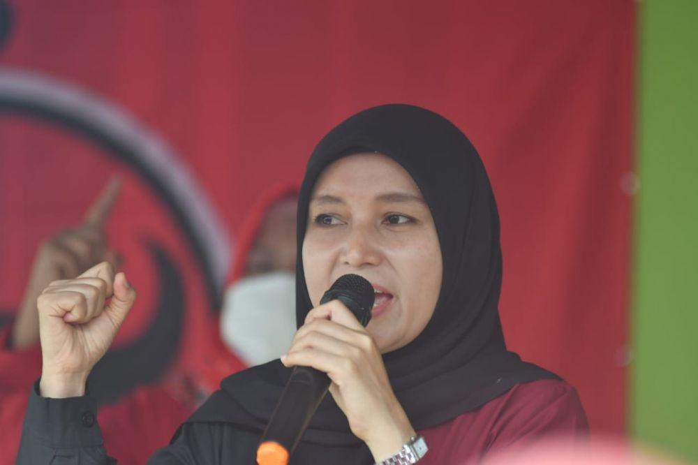 Ratu Ajak Kader Banteng Jambi Pacu Semangat