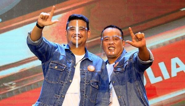 Jalani Debat Perdana, Bobby-Aulia Tampil Prima
