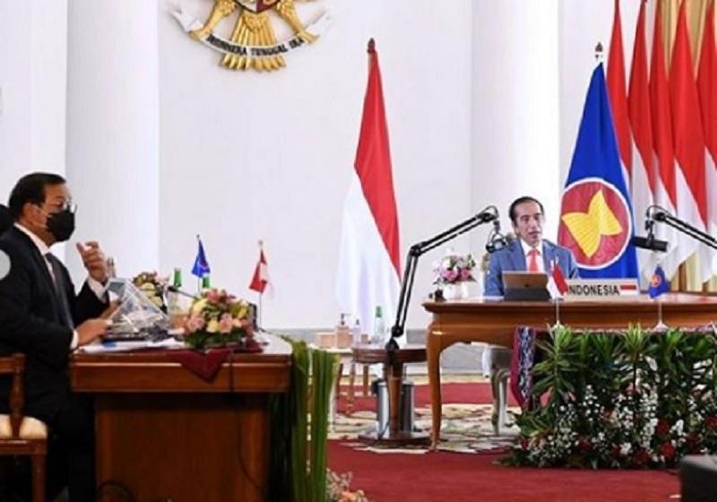 Jokowi Dorong APT Miliki Mekanisme Ketahanan Kesehatan