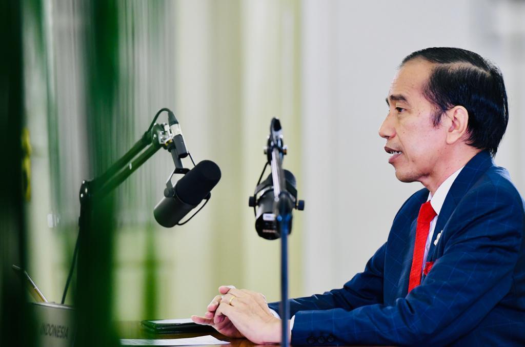 Ikuti KTT APEC Secara Virtual, Presiden Sampaikan Hal Ini