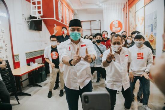 Tim Pemenangan Eri-Armuji Sasar Suara Milenial