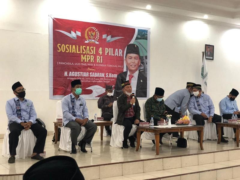 Agustiar Puji Pemuda Kalteng Punya Rasa Kebangsaan Tinggi
