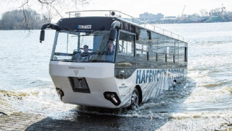 Wali Kota Hendi Targetkan Tahun 2021 Bus Amfibi Beroperasi