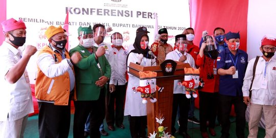 Sah! KPU Nyatakan Ipuk-Sugirah Menangi Pilkada Banyuwangi