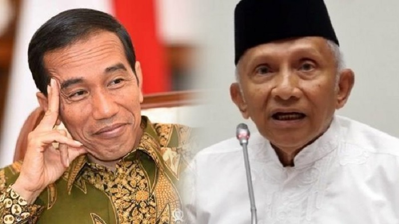 Amien Rais Ditantang Minta Maaf ke Presiden Jokowi