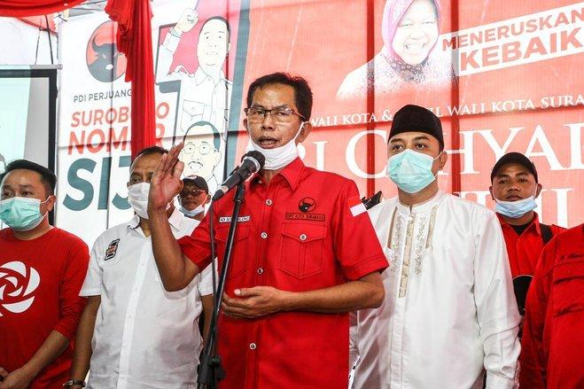 Banteng Surabaya Berpegang Putusan Bawaslu Jatim