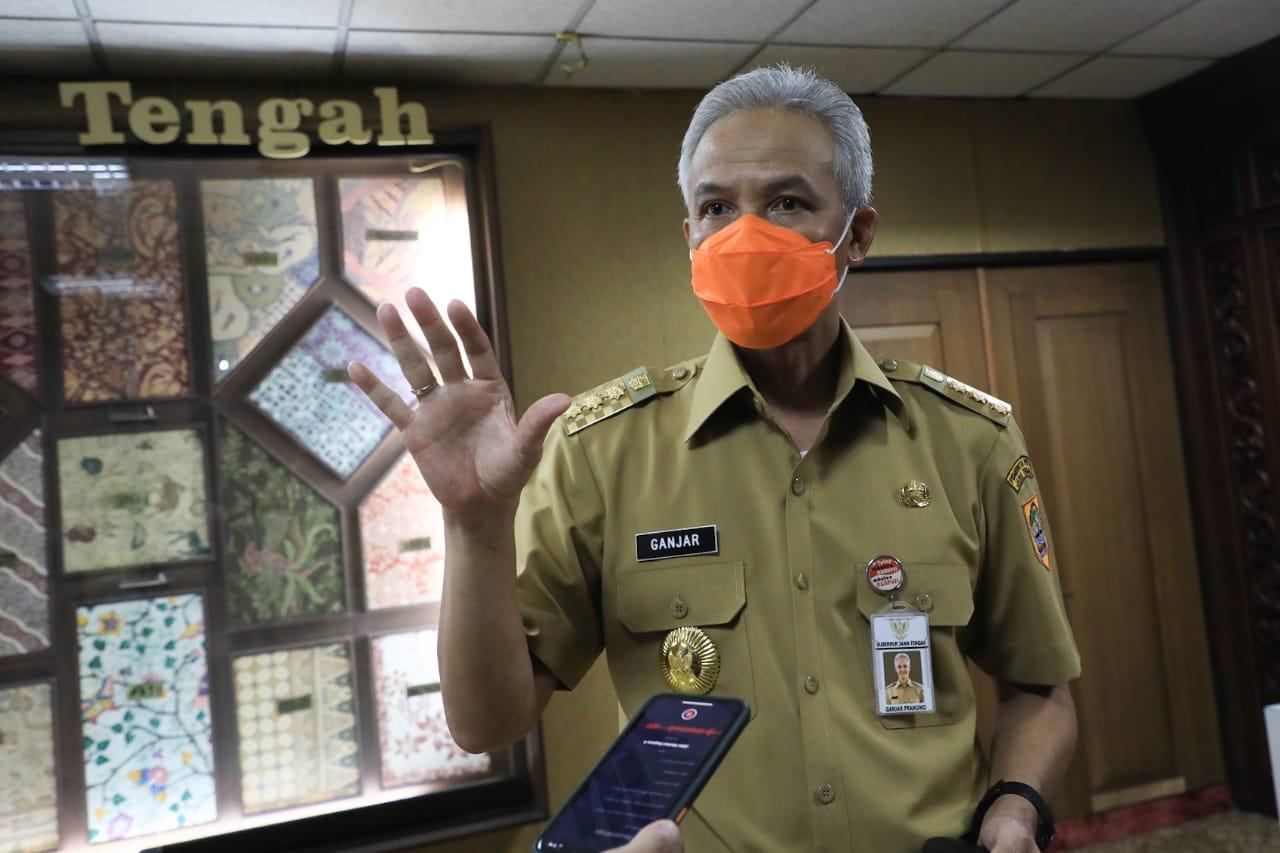 Ganjar Tunggu Aturan Resmi Penerapan PSBB Jawa dan Bali