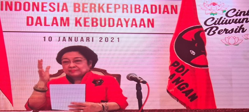 Megawati & Presiden Jokowi Buka Pidato Soal Sriwijaya Air
