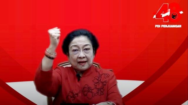 Megawati: Indonesia Tak Butuh Pedoman Selain Pancasila!