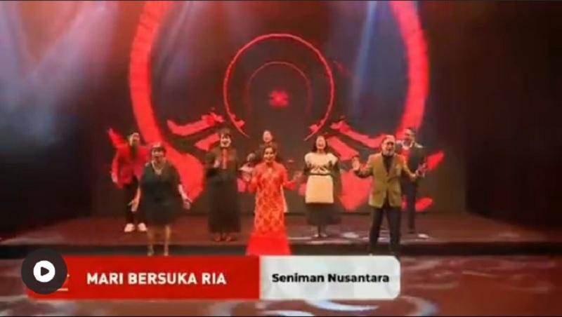 Lagu Karya Bung Karno Dilantunkan Dalam HUT PDI Perjuangan