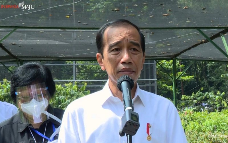 """Presiden Jokowi Singgung """"Kembalian"""" Subsidi Pupuk"""