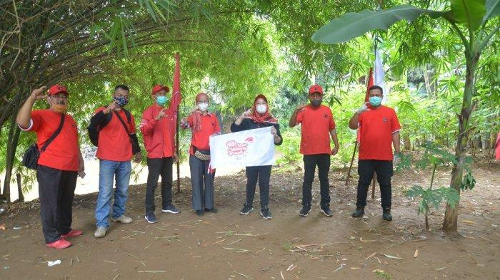 HUT PDI Perjuangan, Banteng Jaksel Bersihkan DAS Ciliwung