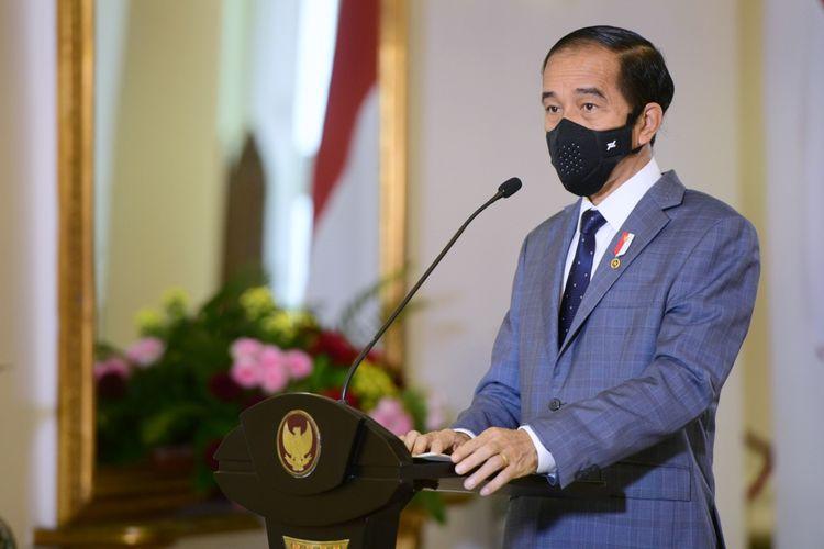 Presiden: Vaksinasi Jadi Ikhtiar Agar terbebas Dari Pandemi