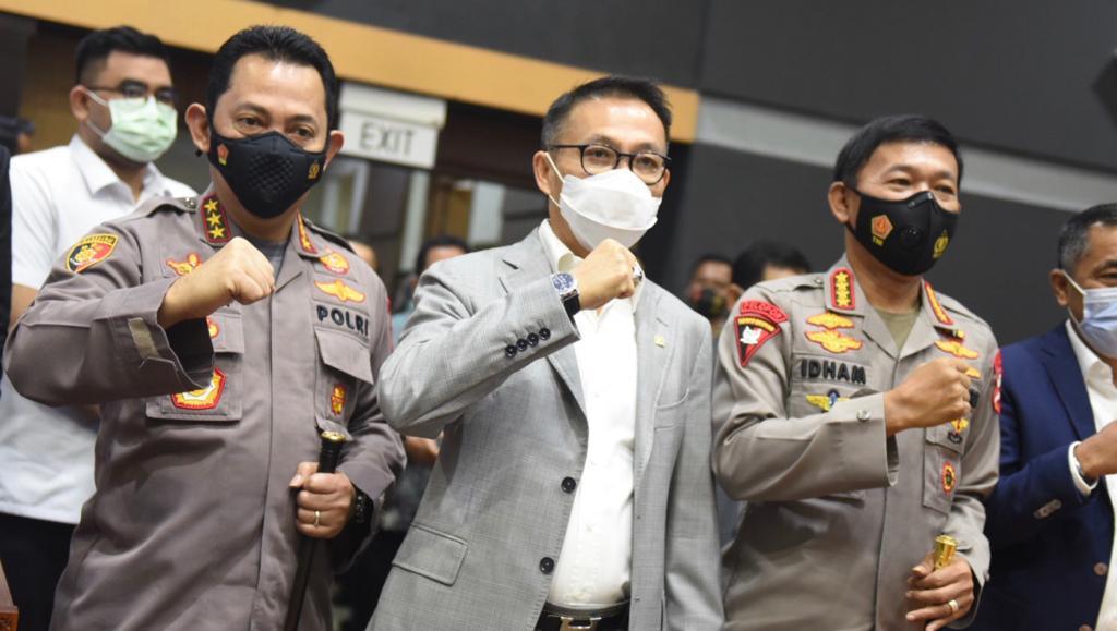 Tok! DPR RI Setujui Penunjukan Listyo Sigit Jadi Kapolri