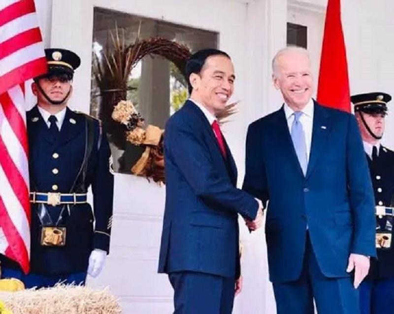 Presiden Jokowi Beri Ucapan Selamat Atas Pelantikan Biden