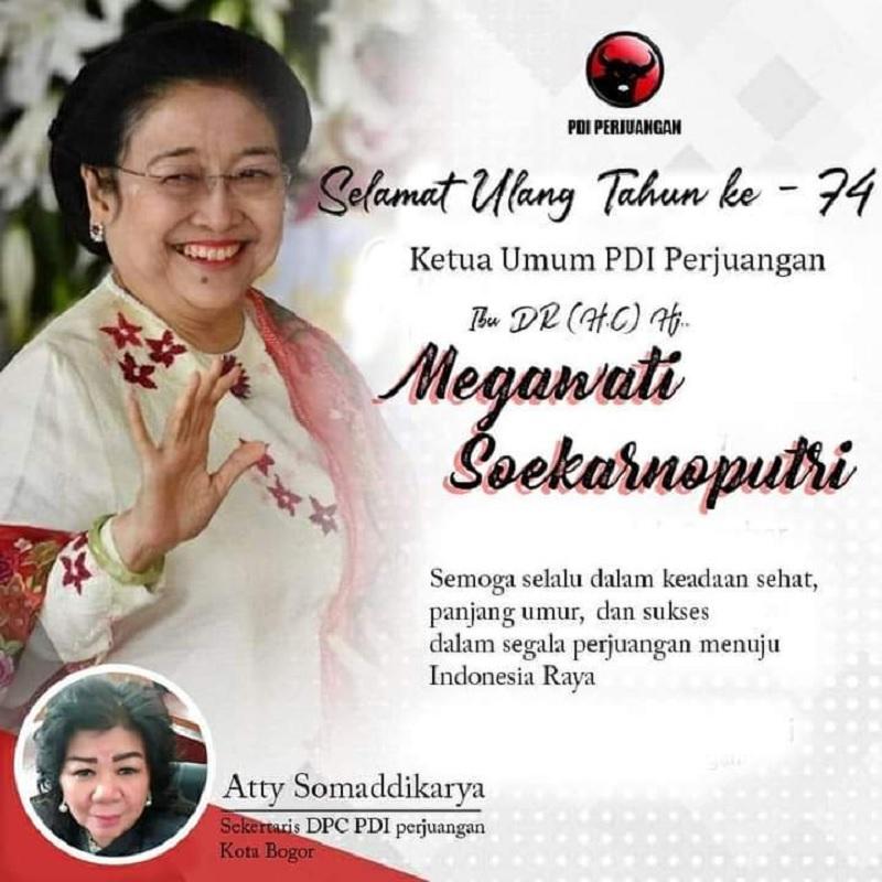 HUT Megawati, Atty: Ibu Ideologis Yang Membumikan Pancasila