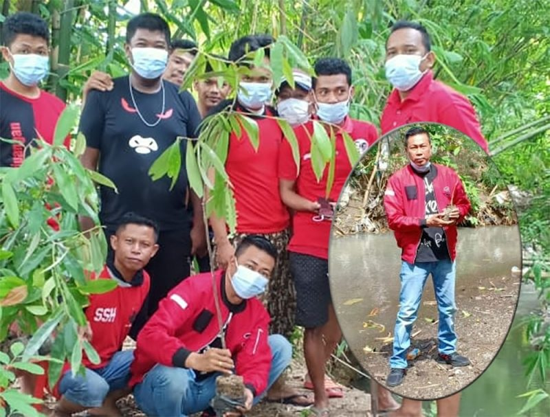 HUT Megawati, Banteng Sidrap Doa Bersama & Tanam Pohon