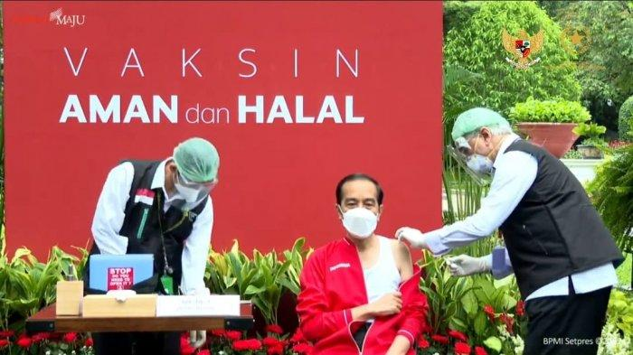 Presiden Jokowi Janji Benahi Kendala Vaksinasi COVID-19