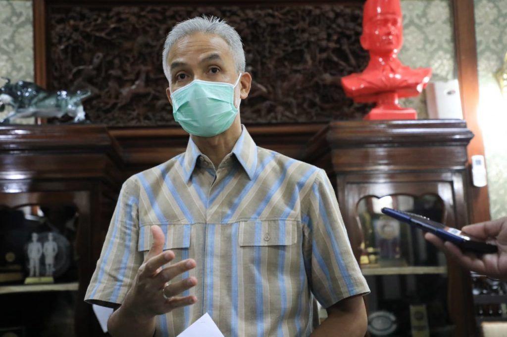 Ganjar Pastikan Seluruh Daerah Dukung 'Jateng di Rumah Saja'
