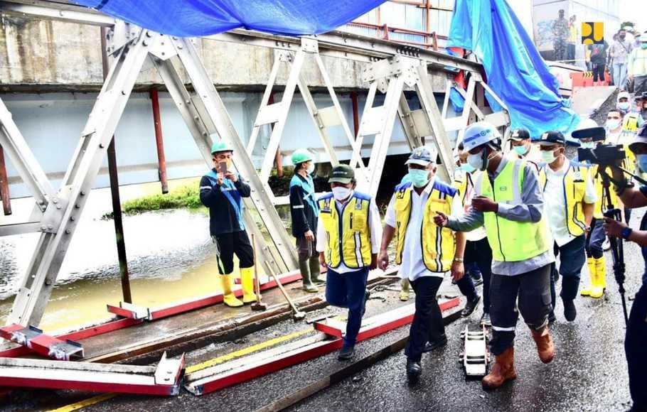 Basuki Pastikan Siap Ganti Jembatan-Jembatan Tua di Jateng
