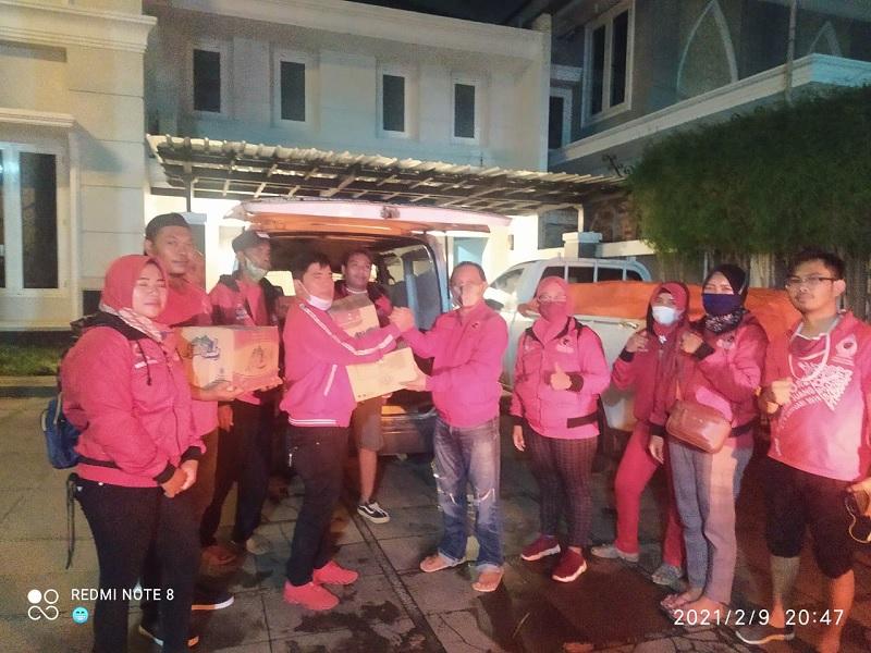 BAGUNA Kab Pemalang Bantu Korban Banjir di Kota Pekalongan