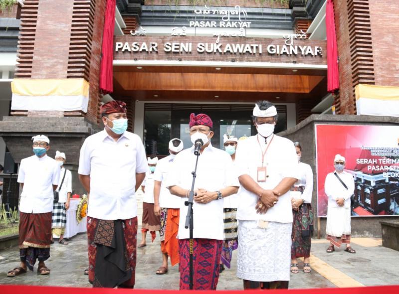 Koster Usulkan Standarisasi Harga di Pasar Sukawati