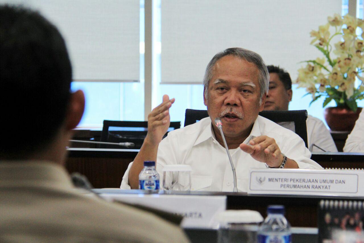 Basuki Ajak Badan Usaha Bantu Percepatan Akses Air Bersih
