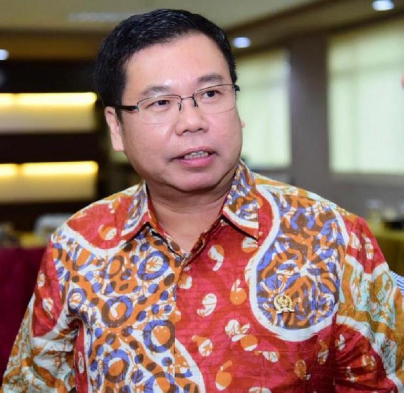 Sofyan Tan Puji Pemkab Deli Serdang Saat ke Desa Denai Lama