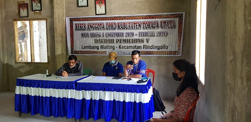 Reses, Samuel Serap Langkanya Pupuk di Lembang Salu Mai'Ting