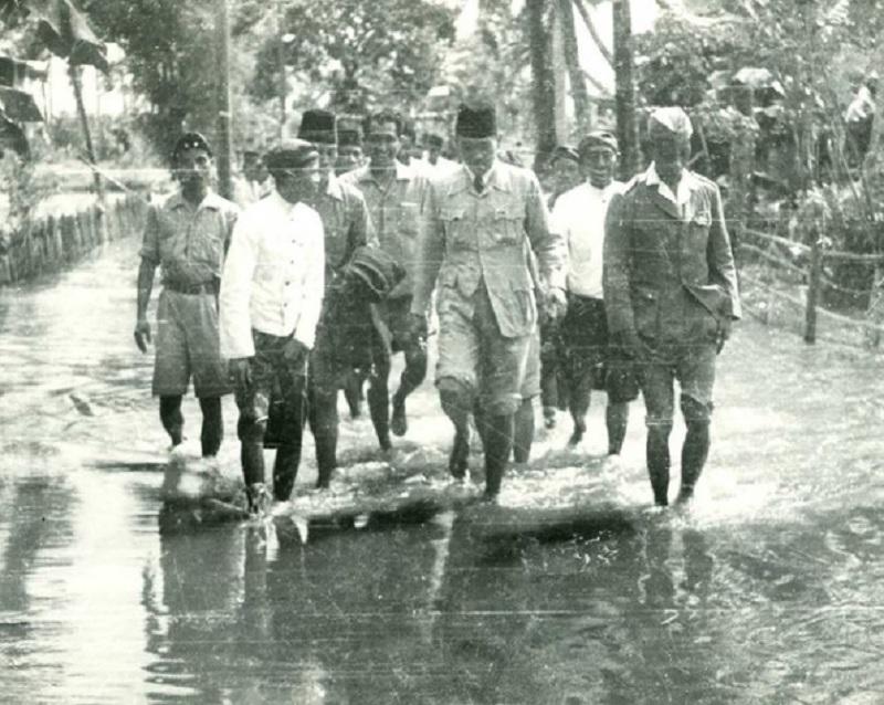 Banjir Jakarta, Ini Kata Bung Karno Soal Gubernur DKI